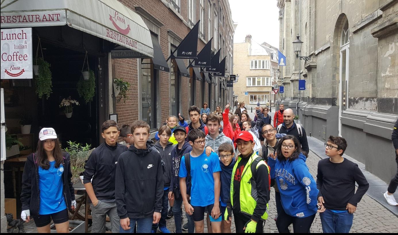 Dans les rues de Maastricht.