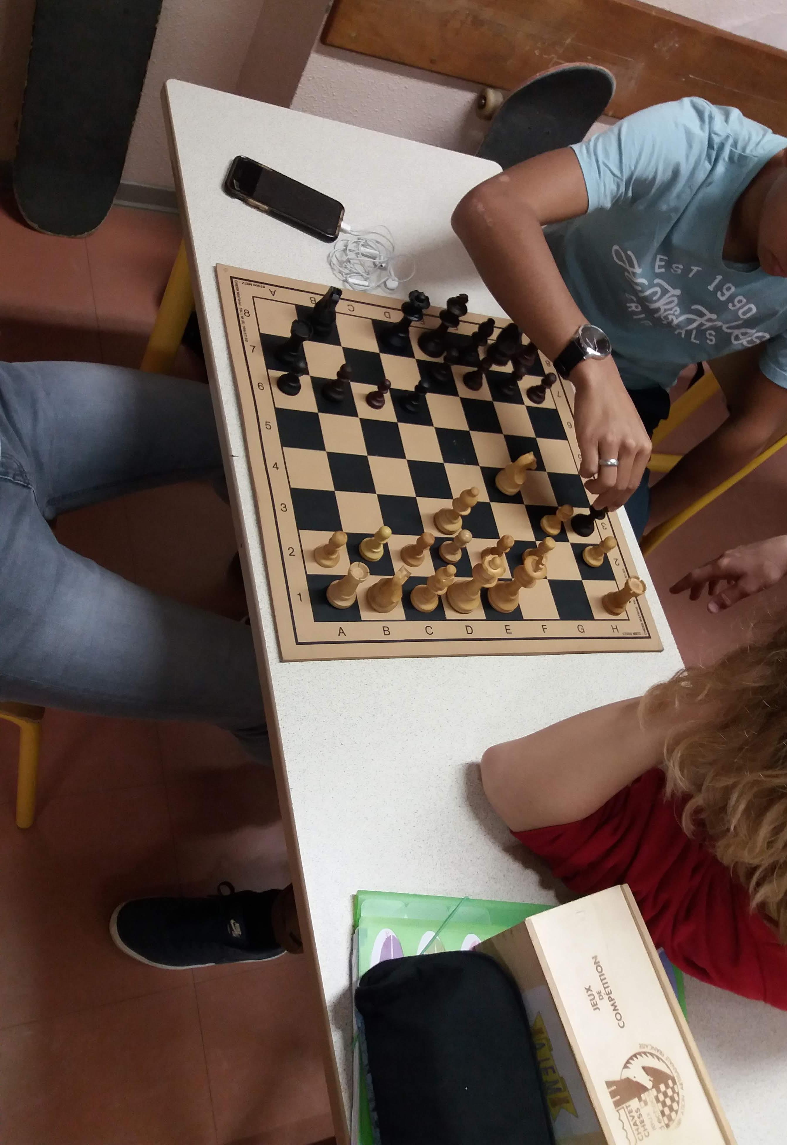 Exemple : Jeux d'échecs