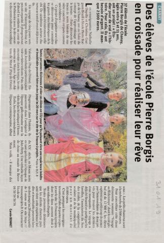 Article dans le Dauphiné du 31/01/2019 ! Merci à tous...