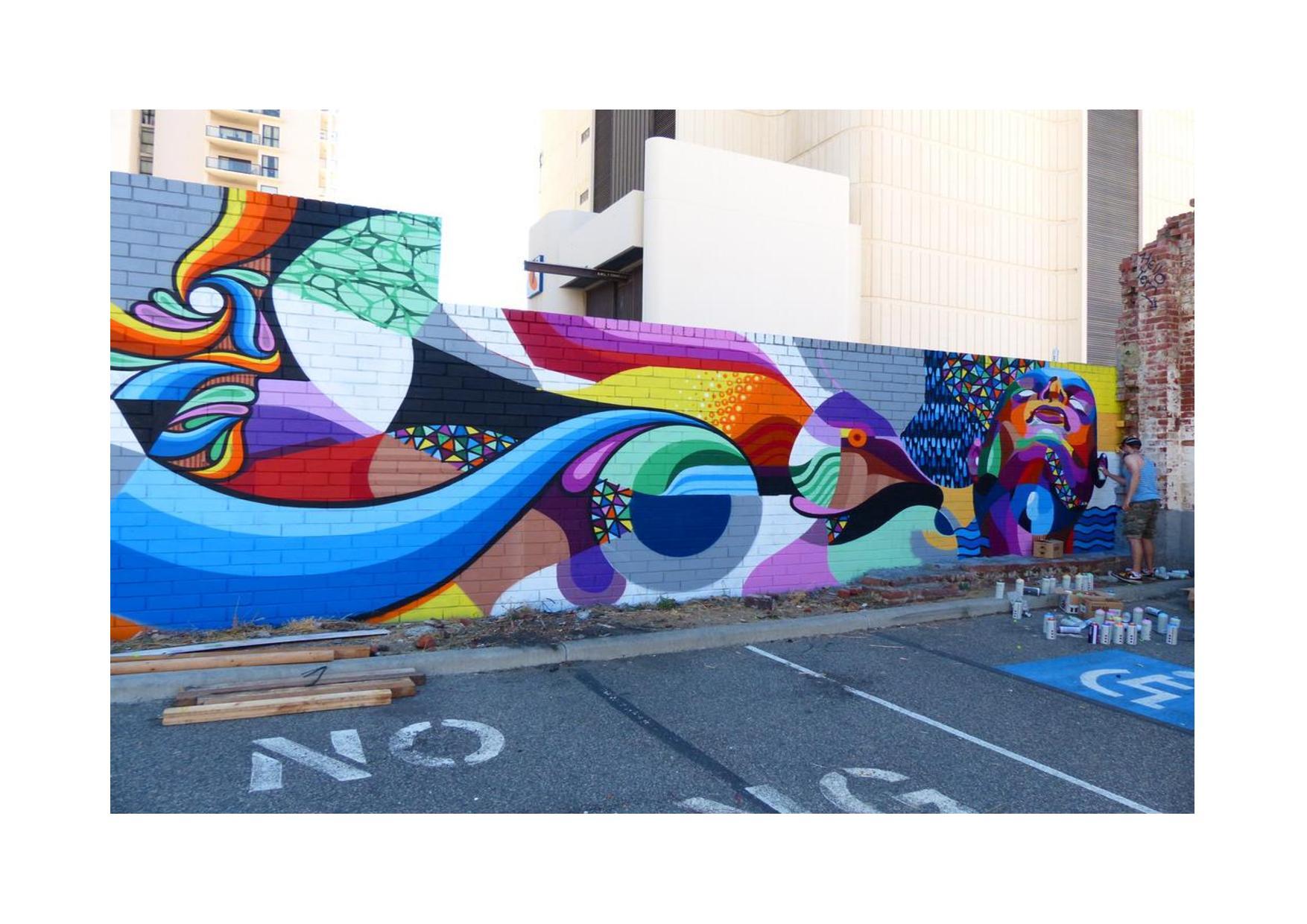 Peindre Une Fresque Sur Un Mur peindre les murs aux couleurs de nos émotions - trousse à