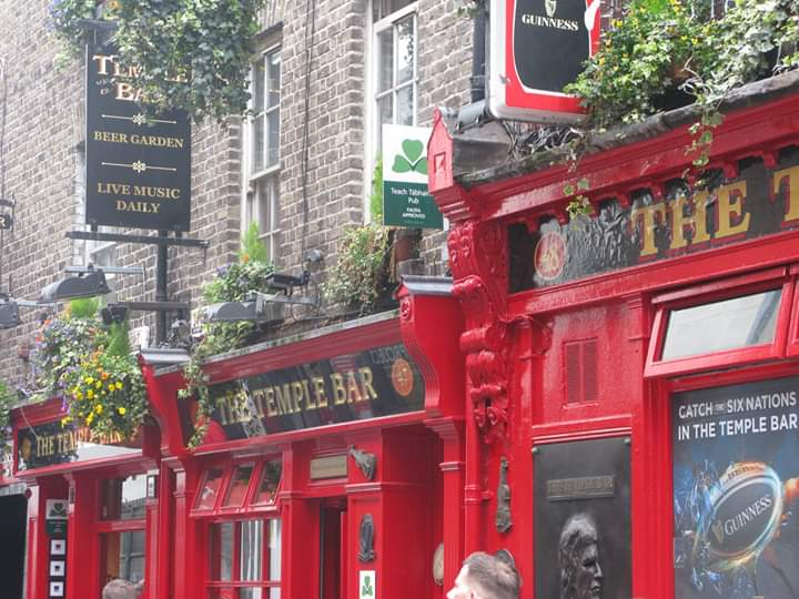 Le quartier de Temple Bar