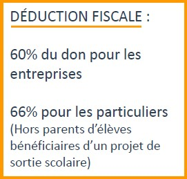 Déduction fiscale